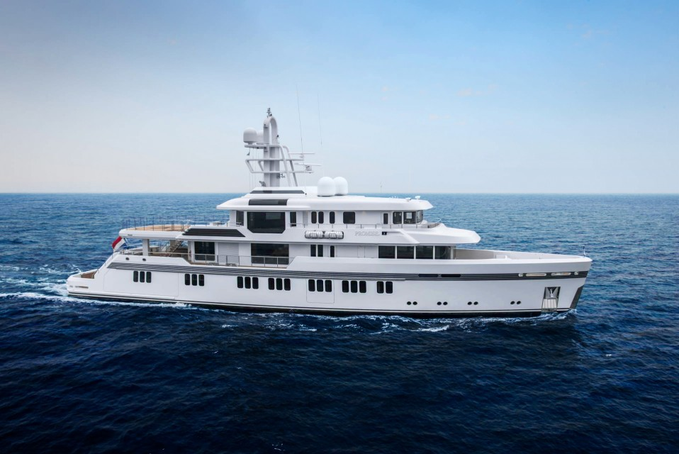 First ice-classed Feadship superyacht Promise delivered