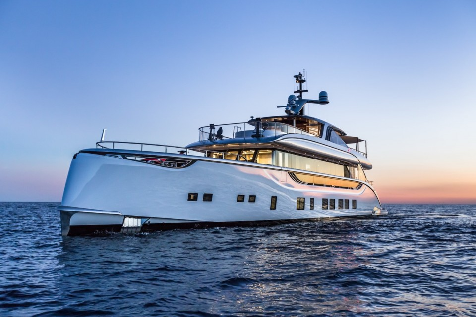 Dynamiq Superyacht Spring has received a 1.25m price reduction and is now available for €9.250.000.