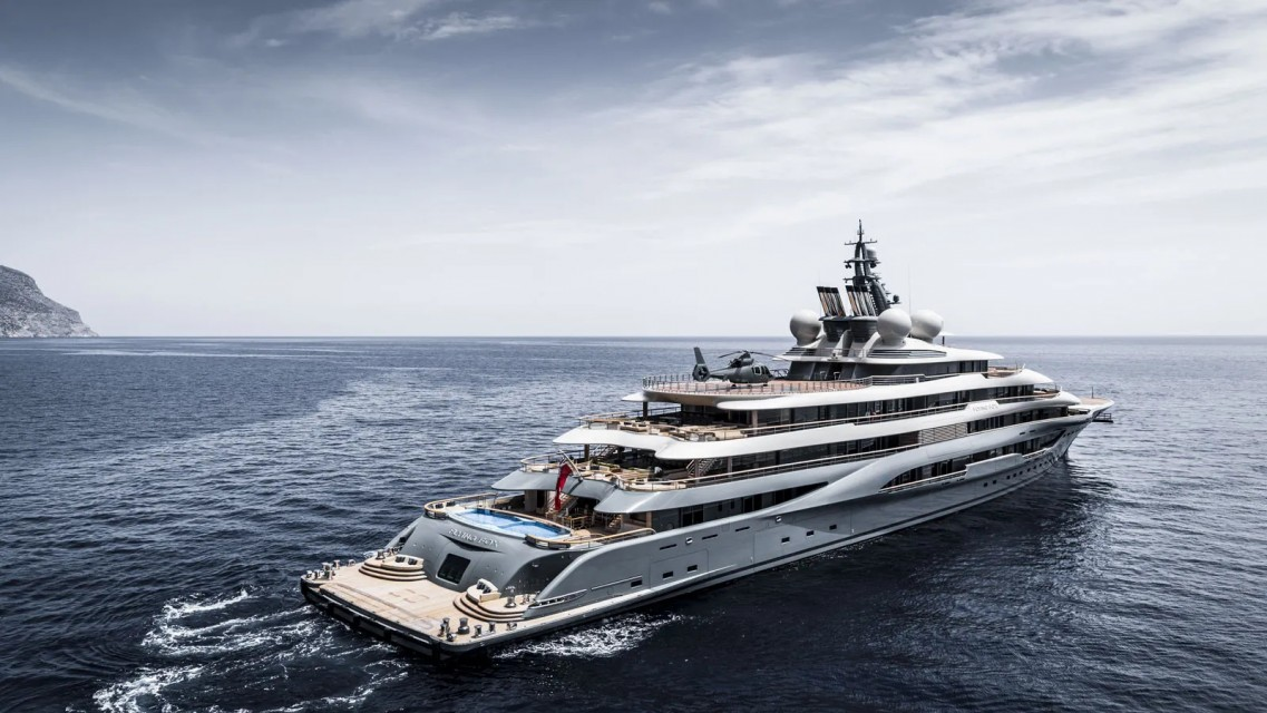 Flying Fox: The world's most expensive charter yacht