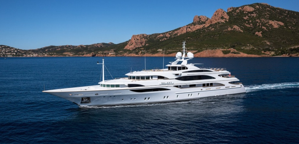For Sale M/Y Galaxy