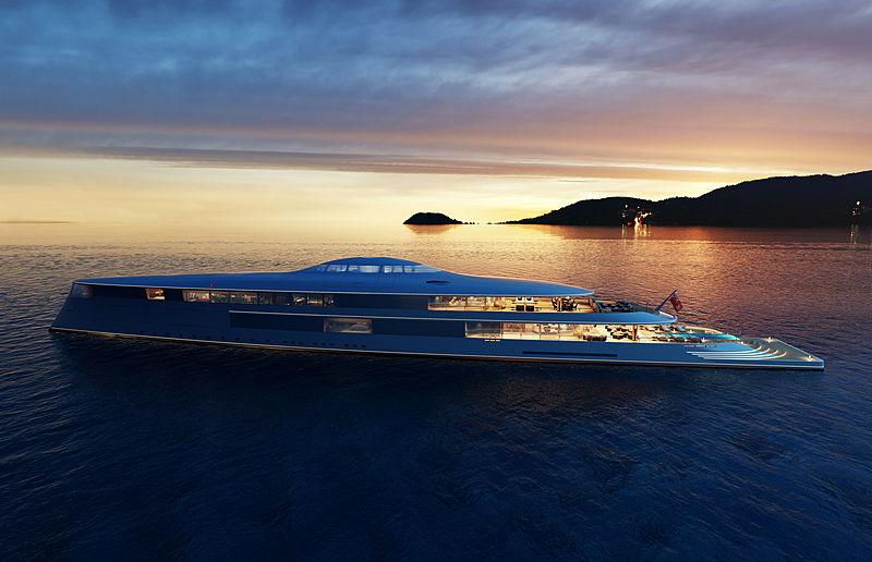 112M Hydrogen-powered concept 'Aquas'