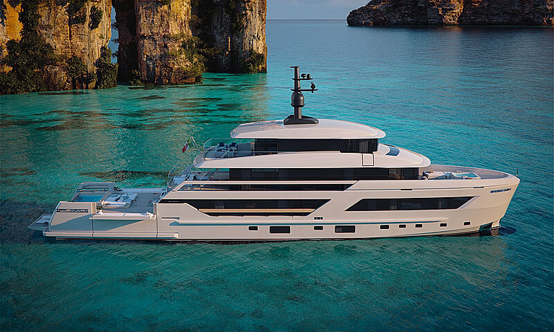 Sanlorenzo X-Space-The superyacht designed for ultimate privacy