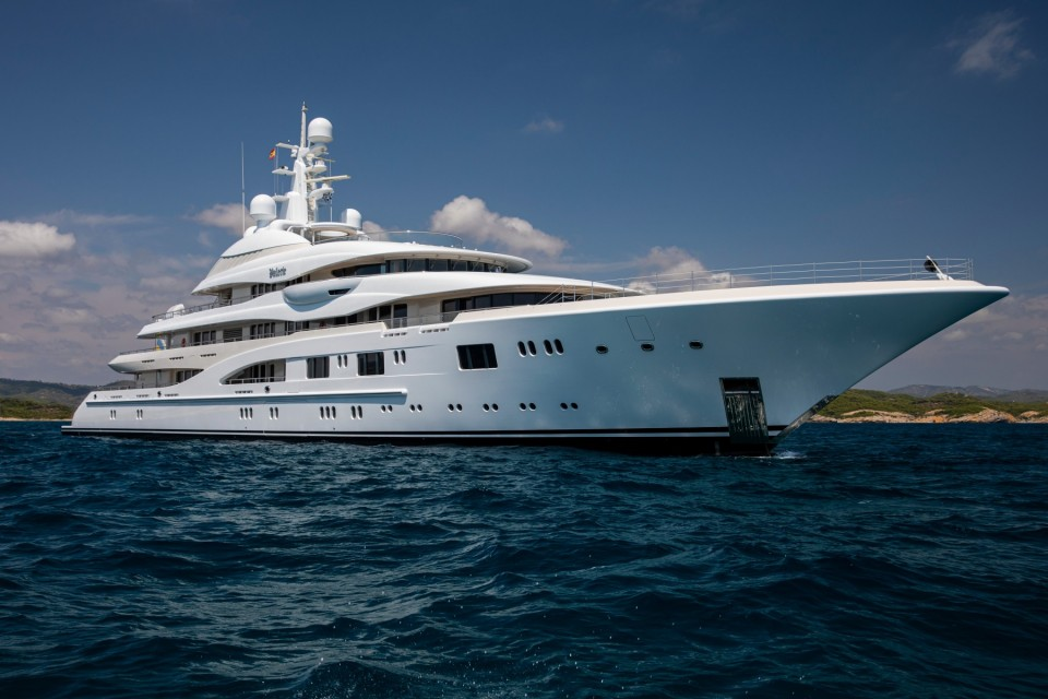 €10M price reduction on mega yacht Valerie