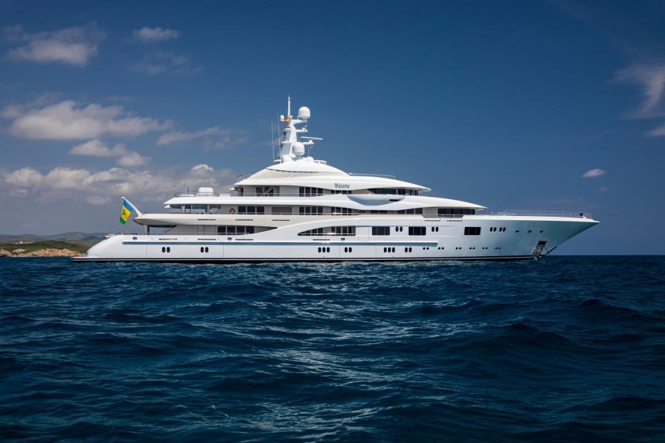 Megayacht Valerie in Monaco