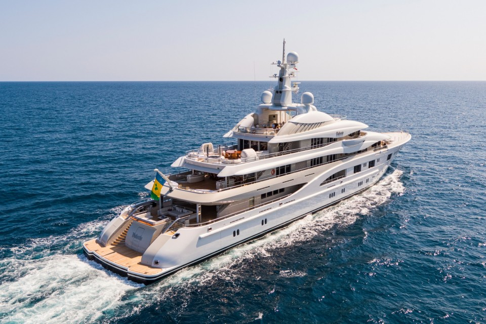 85m Valerie Offered for Charter for the First Time