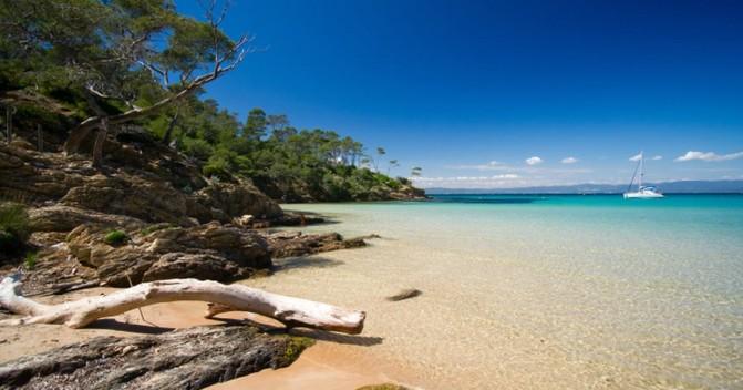 Самые популярные пляжи юга Франции