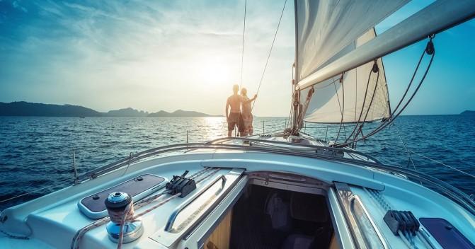 Преимущества отдыха на яхте