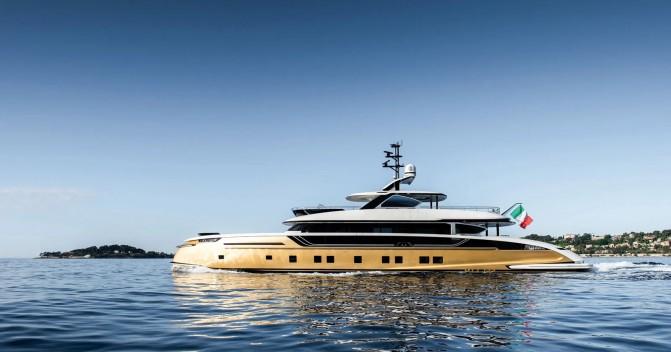 Stefania: On board Dynamiq's new 41m golden superyacht