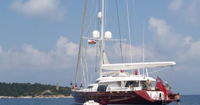 """Снижение цены на парусную яхту """"Georgia"""""""