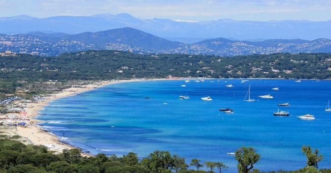 Самые популярные порты и бухты возле Сен-Тропе