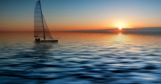 Круиз на яхте в различные погодные условия