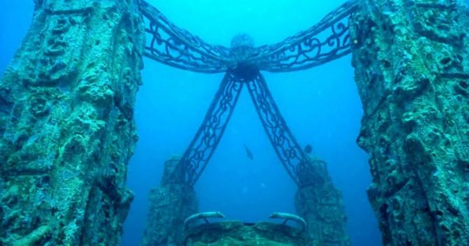 Самые интересные подводные города для дайвинга