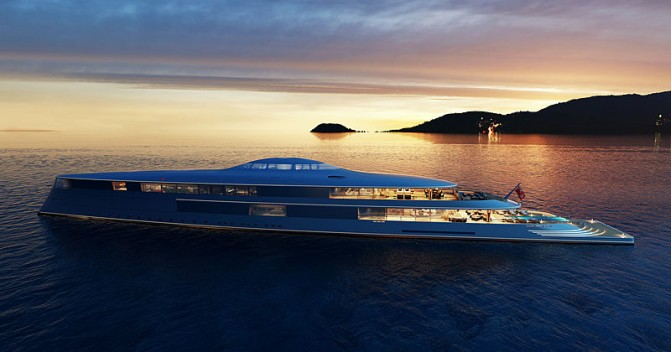 112M Hydrogen-powered concept 'Aquas'